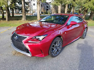 2016 Lexus RC 350 F-Sport AWD **FULLY LOADED** Optioned Out**