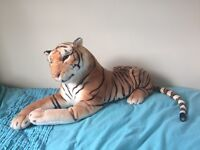 Giant Tiger Stuffed Cuddly Toy