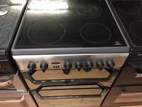 Silver indesit 60cm electric cooker