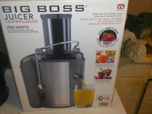 Big boss juicer for 30