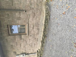 Garden Retaining wall stone