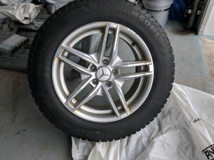 Mercedes WINTER TIRES AND MAGS 225/65 R17