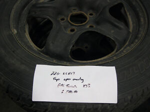 GMC terrain snow tires