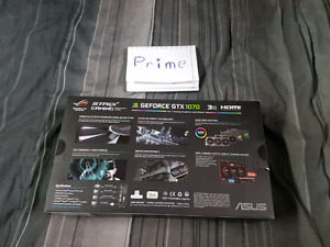 GTX 1070 STRIX BRAND NEW UN OPENED