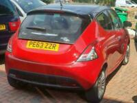 2013 Chrysler Ypsilon 1.2 Black and Red 5dr HATCHBACK Petrol Manual