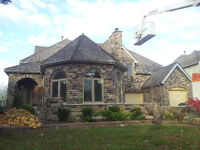 STONE MASONRY - NATURAL AND CULTURED VENEER