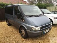 FORD TRANSIT SWB GLX 9 seat TOURNEO, air con, elec pack, Blue, Manual, Diesel, 2