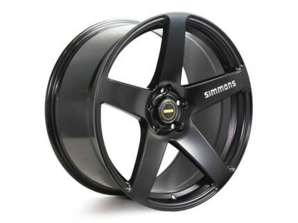 SIMMONS FRC CONCAVE 20 INCH STAGGERED WHEEL & TYRE PACKAGE
