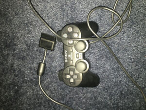 Sony PlayStation controller joystick with cord wire