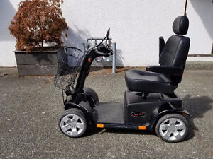 Pride Pursuit scooter - used - Black - 90 day guarantee
