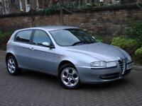 EXCELLENT DIESEL! 2005 ALFA ROMEO 147 1.9 JTD TURISMO 5dr, 1 YEAR MOT FULL SERVICE HISTORY12 STAMPS