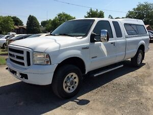 2007 FORD F-250 XLT 4X4 DIESEL BOITE 8' IMPECCABLE! 14995$!!