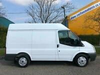 8a9508538c5f 2010  60 Ford Transit 260 Tdci Swb Medium Roof Van   NO VAT TO PAY