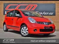 Nissan Note 1.4 16v Visia 5DR 2008 + FULL HISTORY + 12 MONTHS MOT + WARRANTY +