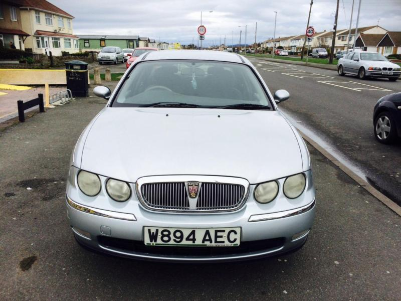 2000 rover 75 2 0 cdt manual diesel saloon silver in abergele conwy gumtree. Black Bedroom Furniture Sets. Home Design Ideas