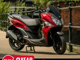 SYM JET 14 50cc Twist & Go Automatic Moped Maxi Scooter Learner Legal For...