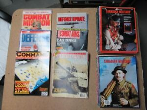 APPROX. 74 MAGAZINES 1989-90'S MOSTLY CANADIAN MILITARY-SEE TEXT