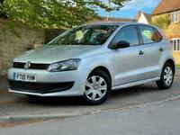 2010 Volkswagen Polo, 1.2 S, Petrol, Manual, 5 doors, Silver.