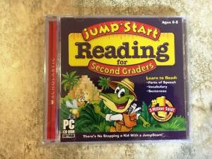 Jump Start Reading for 2nd Graders (CD-Rom)