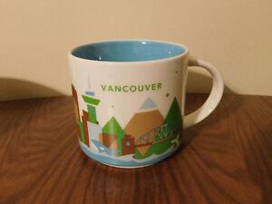 "Starbucks ""Vancouver"" You Are Here Collection Mug-Brand New"