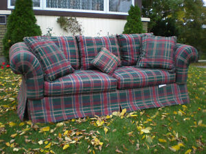 CLEAN SOFA, $45  vary nice & clean condition ....