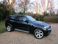"2008 58 BMW X5 3.0d SE DIESEL AUTO 7 SEATER 75K FSH SAT NAV SPORT PACK 19"" alloy"