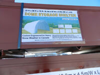 20ftX30ftX12ft Dome Storage Shelter