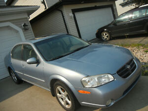 2001 Nissan Maxima Sedan with low km