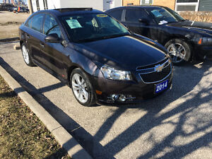 2014 Chevrolet Cruze 2LT Sedan RS package
