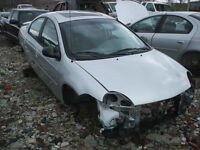 PARTING OUT: 2000 CHRYSLER NEON
