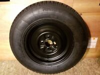 "Caravan Spare Wheel & Tyre 13"" 165 x 13"