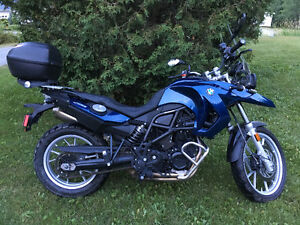Enduro F650GS twin