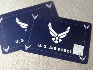 Two Airforce Mats