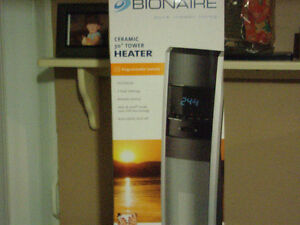 Tower heater with Remote - Brand new