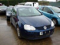 VW GOLF MK5 1.4 16V 'BUD' 2007 - *BREAKING*