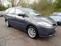Mazda 5 2.0 TS2 7 SEATER (12 MONTH MOT + LOW RATE FINANCE AVAILABLE) (grey) 2007