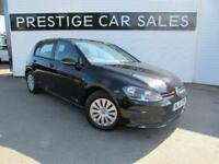 2015 Volkswagen Golf 1.6 TDI BlueMotion Tech S (s/s) 5dr Diesel black Manual
