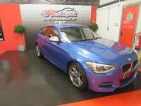 2014/14 BMW 135i M SPORT 3 DOOR - ESTORIL BLUE - FULL LEATHER - 320BHP