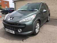 PEUGEOT 207 SW OUTDOOR Grey Manual Diesel, 2008