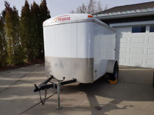 Covered Utility Trailer 8'