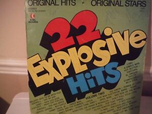 K-TEL RECORDS 22 EXPLOSIVE HITS VOL 2 West Island Greater Montréal image 1