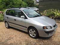 2003 52 MITSUBISHI SPACE STAR 1.6 16v EQUIPPE AUTO TRIPTRONIC 5 DOOR HATCH