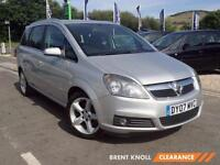 2007 VAUXHALL ZAFIRA 1.8i SRi [Exterior Pack] 7 Seat Low Miles Aircon