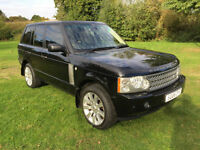 2006 Land Rover Range Rover 3.0 Td6 Vogue 4X4 FSH, LIGHT TAN LEATHER TRIM