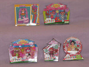 MINI LALALOOPSY DOLLS NEW IN PACKAGE