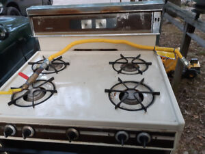 Propane stove perfect for hunting camp
