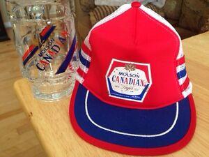 Molson Canadian beer cap and mug Gatineau Ottawa / Gatineau Area image 1