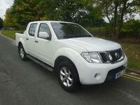 Nissan Navara 2.5dCi Acenta double cab pick up 2011/61 2 previous owners Jan mot