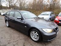 BMW 3 SERIES 320d ES TOURING (FULL SERVICE HISTORY + FULL LEATHER SEAT) (grey) 2006