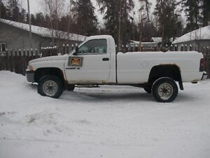 2001 Dodge Power Ram 2500 Regular Cab Pickup Truck